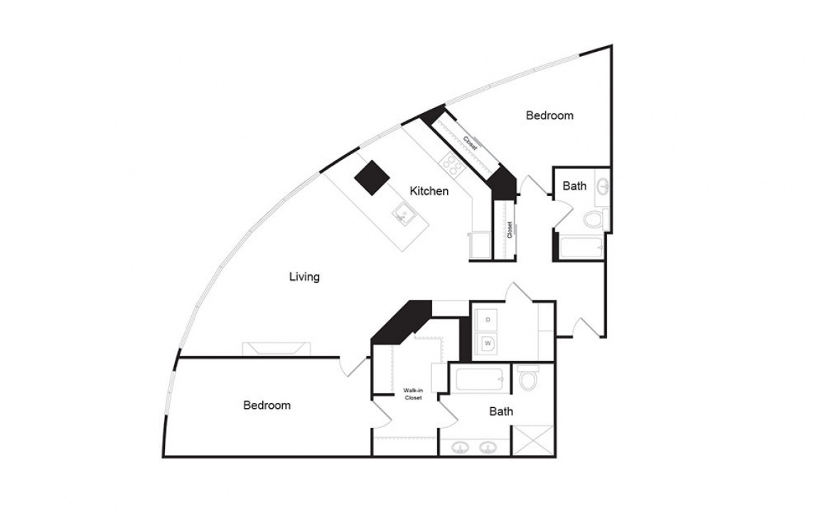 2 Bed Penthouse A