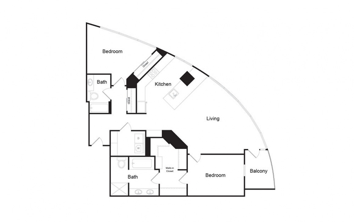 2 Bedroom Penthouse E