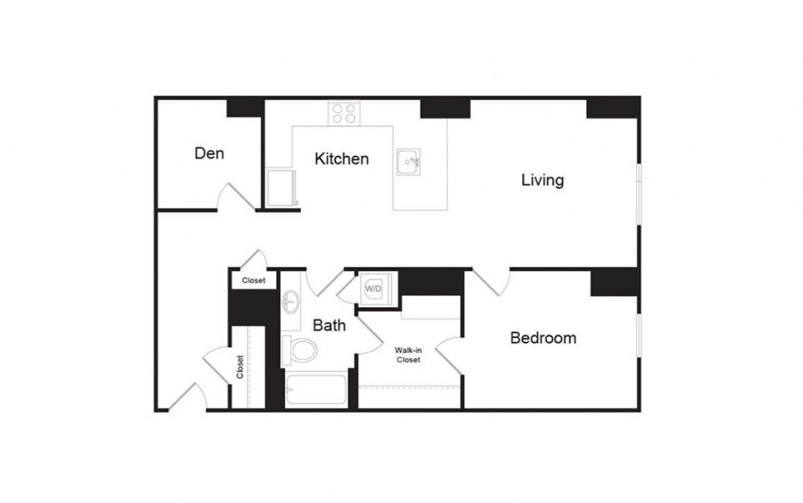 H | Floors 3-6