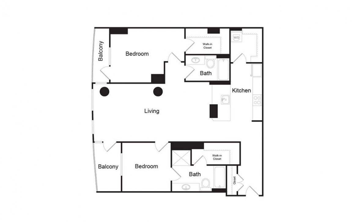S | Floors 2-4